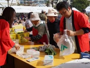JA 海部東農業協同組合(あまひがし) -神守支店が地域のフェスティバルでJAをPR