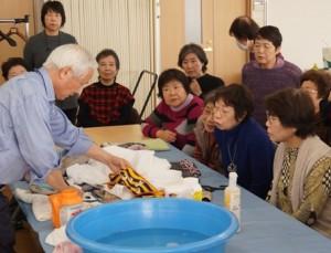 JA 海部東農業協同組合(あまひがし) -洗濯のコツを学ぶ
