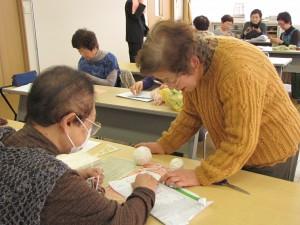 JA 海部東農業協同組合(あまひがし) -本年度の編み物教室が始まる
