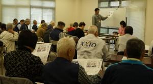 JA 海部東農業協同組合(あまひがし) -老人クラブの勉強会でPR