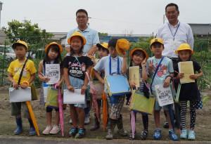 JA 海部東農業協同組合(あまひがし) -小学生が畑の授業