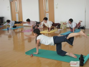 JA 海部東農業協同組合(あまひがし) -普段使わない筋肉に刺激を