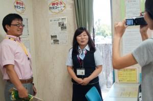JA 海部東農業協同組合(あまひがし) -神守小学校の学習活動に協力