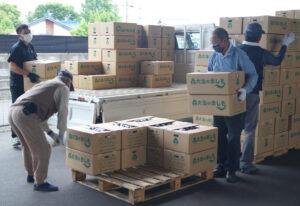 JA 海部東農業協同組合(あまひがし) -大治町しそ出荷組合 令和3年度産 赤しその出荷が開始