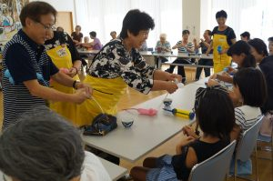JA 海部東農業協同組合(あまひがし) -なの花の会 ミニデイ 子供達も参加