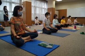 JA 海部東農業協同組合(あまひがし) -リラックスヨガ教室で健康な身体作りを