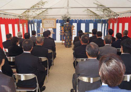 JA 海部東農業協同組合(あまひがし) -新伊福支店建設に向け起工式を行う