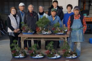 JA 海部東農業協同組合(あまひがし) -神守壮年者友の会 新年の「松・竹・梅」