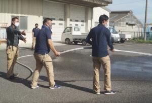 JA 海部東農業協同組合(あまひがし) -緊急時こそ落ち着いた対応を 営農センター防火訓練