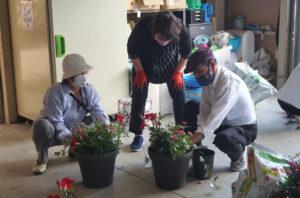 JA 海部東農業協同組合(あまひがし) -気持ち豊かになる作品を制作 ガーデニング教室を開催
