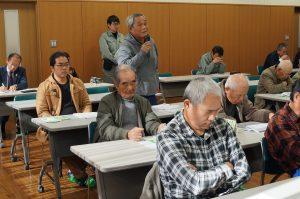 JA 海部東農業協同組合(あまひがし) -出荷組合 意見交換会へ集う