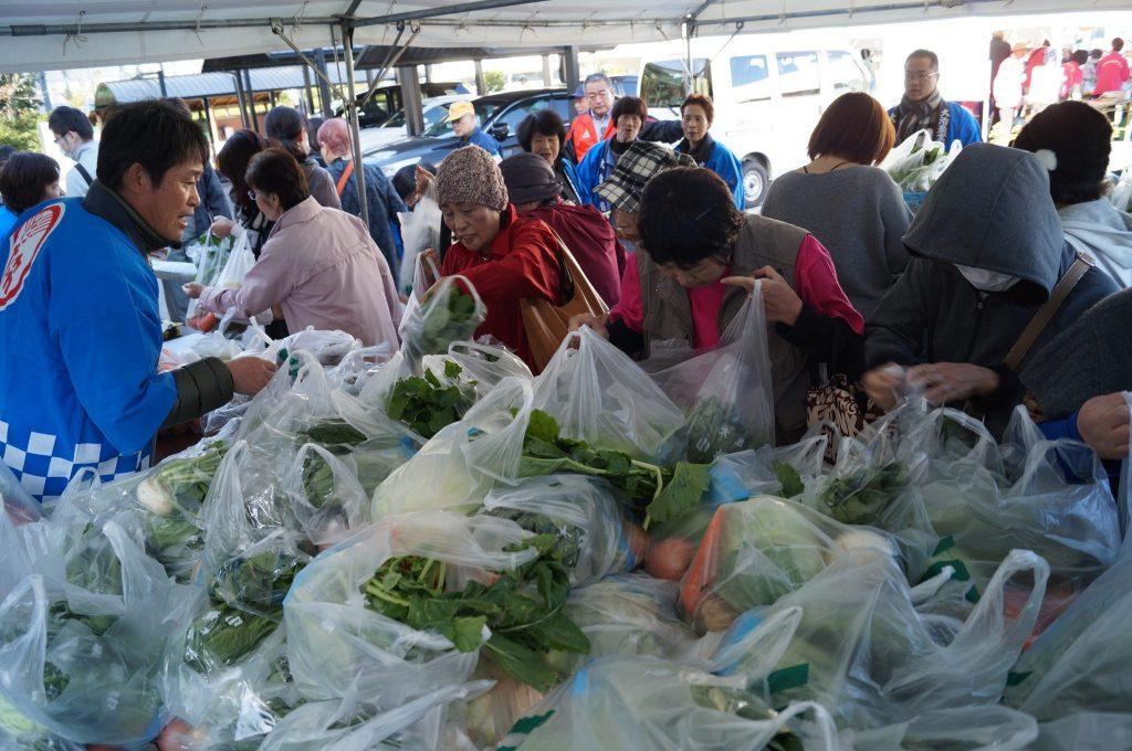 JA 海部東農業協同組合(あまひがし) -地元農産物が大集合 ふれあいフェスティバルに参加