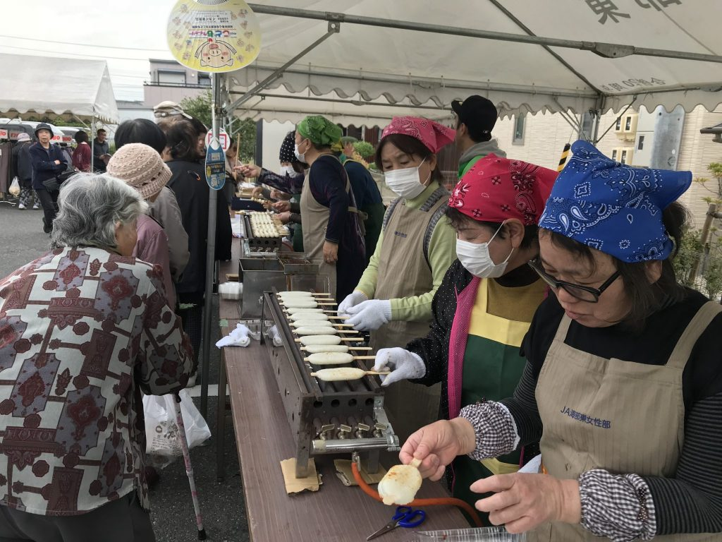 JA 海部東農業協同組合(あまひがし) -感謝祭の盛り上げに協力