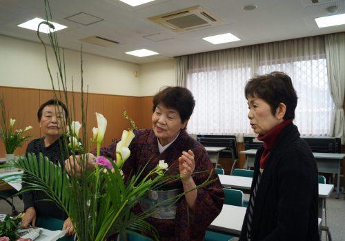 JA 海部東農業協同組合(あまひがし) -女性部 春風満開 春を感じて生け花を楽しむ