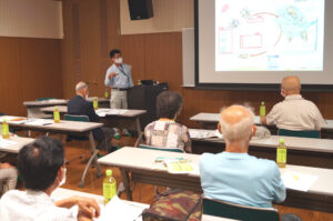JA 海部東農業協同組合(あまひがし) -神守壮年者友の会 秋冬野菜の栽培に向けた講習会を開催