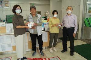JA 海部東農業協同組合(あまひがし) -コロナに負けるな!手作りマスクの配布