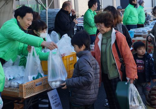 JA 海部東農業協同組合(あまひがし) -大治支店・甚目寺支店で感謝祭