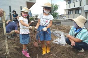 JA 海部東農業協同組合(あまひがし) -子どものうぎょうきょうどうくみあい サツマイモ収穫体験
