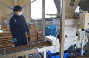 JA 海部東農業協同組合(あまひがし) -育苗センター 令和3年産米の播種始まる