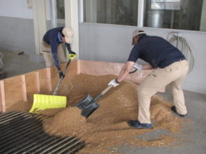 JA 海部東農業協同組合(あまひがし) -美和ライスセンター 令和2年産麦の荷受