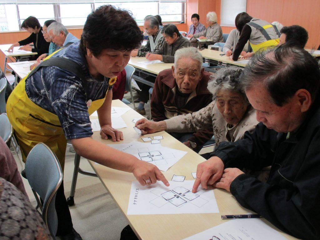 JA 海部東農業協同組合(あまひがし) -認知症予防で長寿クラブに参加