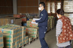 JA 海部東農業協同組合(あまひがし) -美和出荷部会 新ネギの出荷始まる