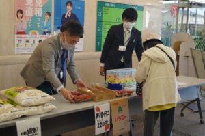 JA 海部東農業協同組合(あまひがし) -令和3年度最初の売出 展示即売会を開催