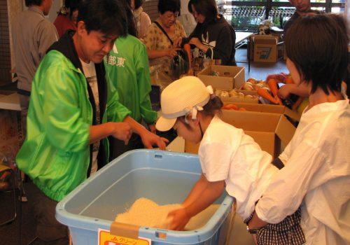 JA 海部東農業協同組合(あまひがし) -JAをアピール! 子育て世代のイベントに協力