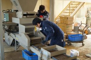 JA 海部東農業協同組合(あまひがし) -育苗センター 令和2年産米の播種始まる