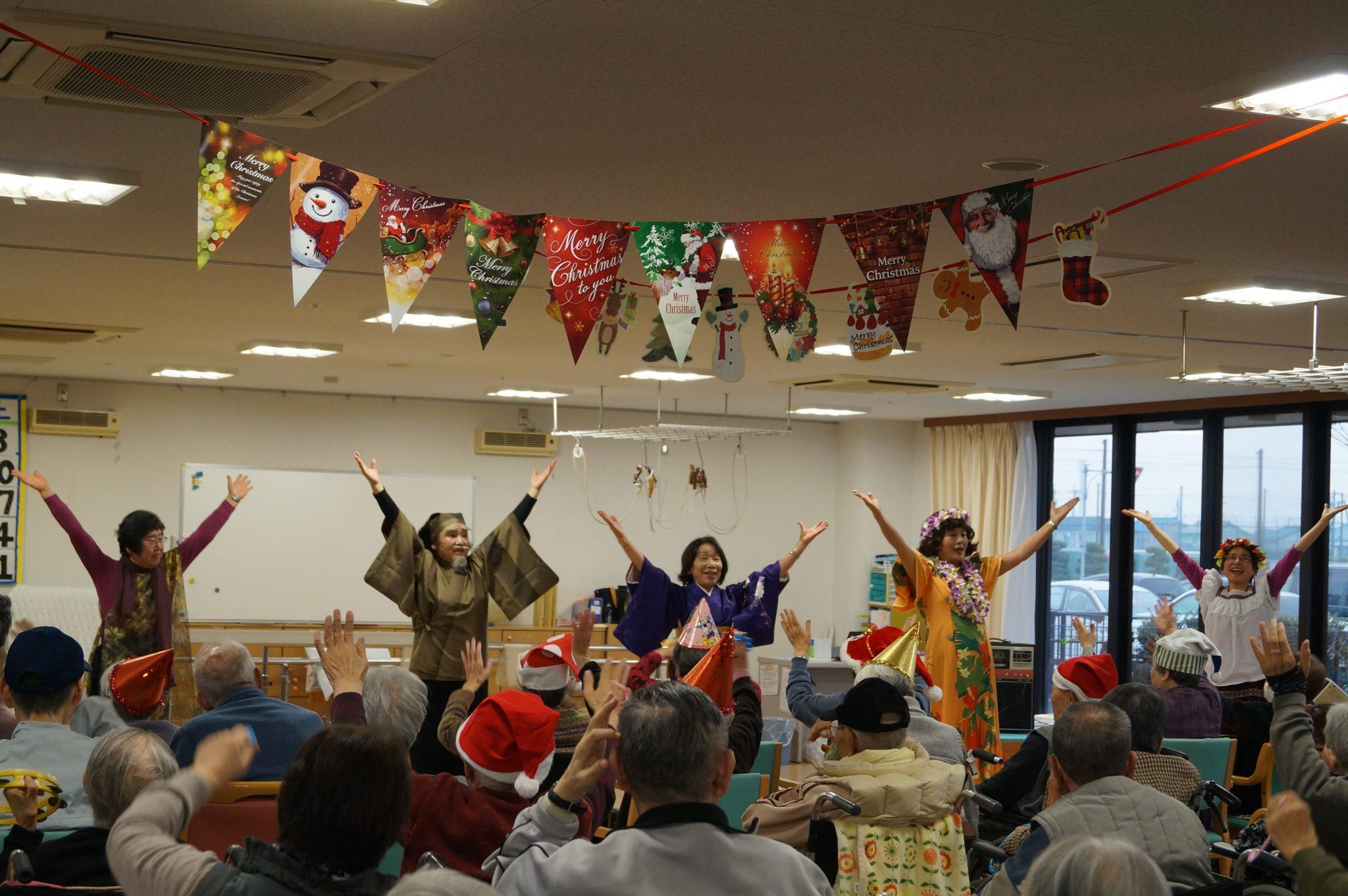JA 海部東農業協同組合(あまひがし) -笑いあり涙ありのクリスマス会