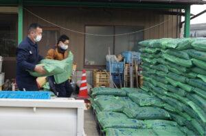 JA 海部東農業協同組合(あまひがし) -令和3年の赤シソ播種に向けて ネオリッチバーク集中配送