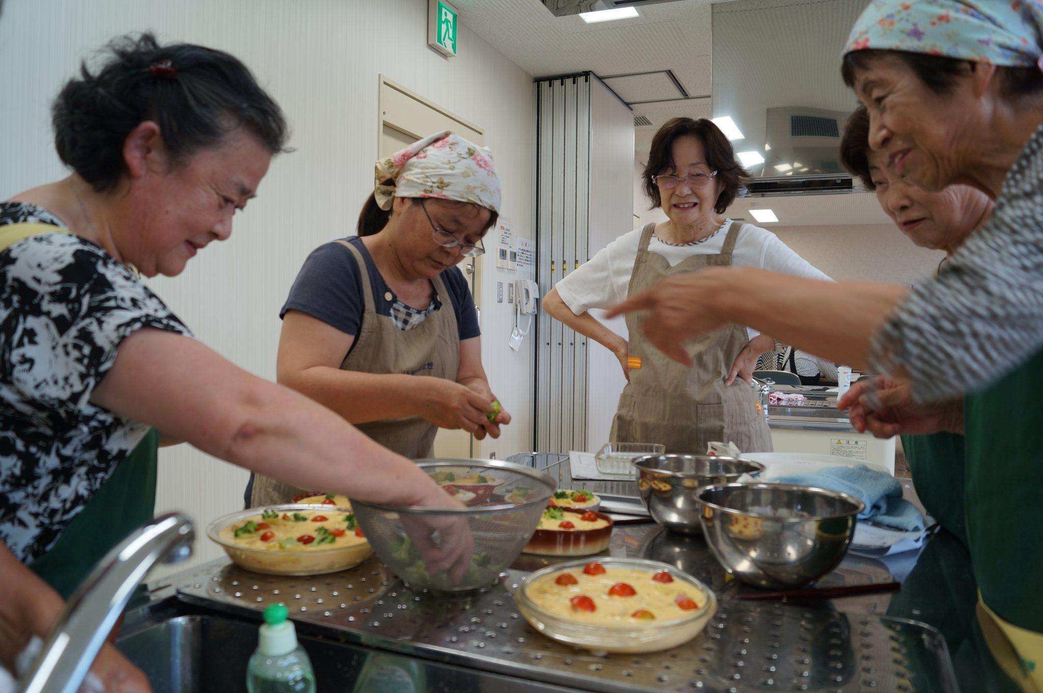 JA 海部東農業協同組合(あまひがし) -夏野菜を取り入れた料理を作ろう