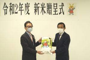 JA 海部東農業協同組合(あまひがし) -地元米を児童らのために 「かぶとまい」を贈呈